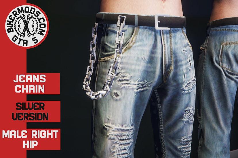 Jean Chain (Silver)