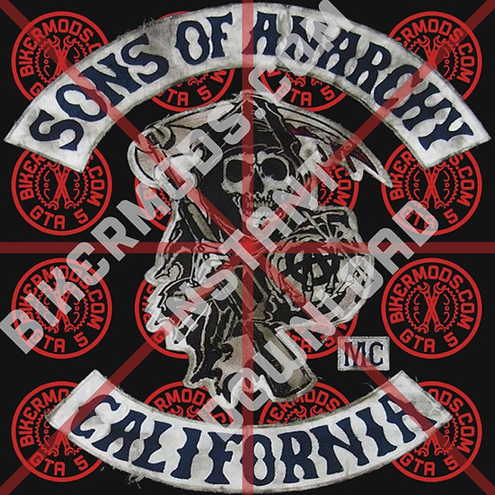 Sons of Anarchy MC HD Emblem (TV Accurate Replica) Instant Download