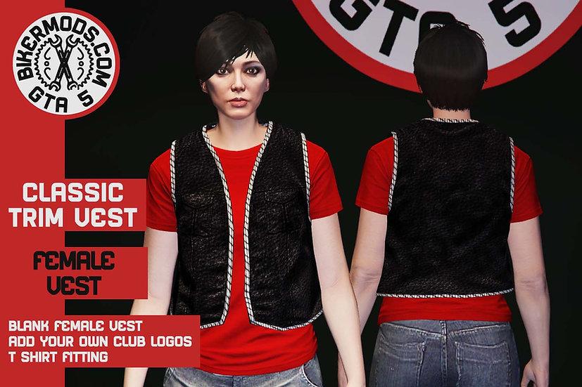 Classic Thin Trim Vest (Female)