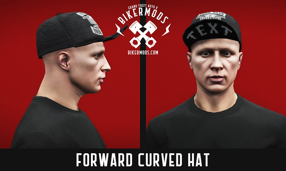 Forward Curved Hat