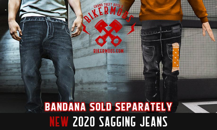 Sagging Jeans (Required Model For Sagging Bandanas)