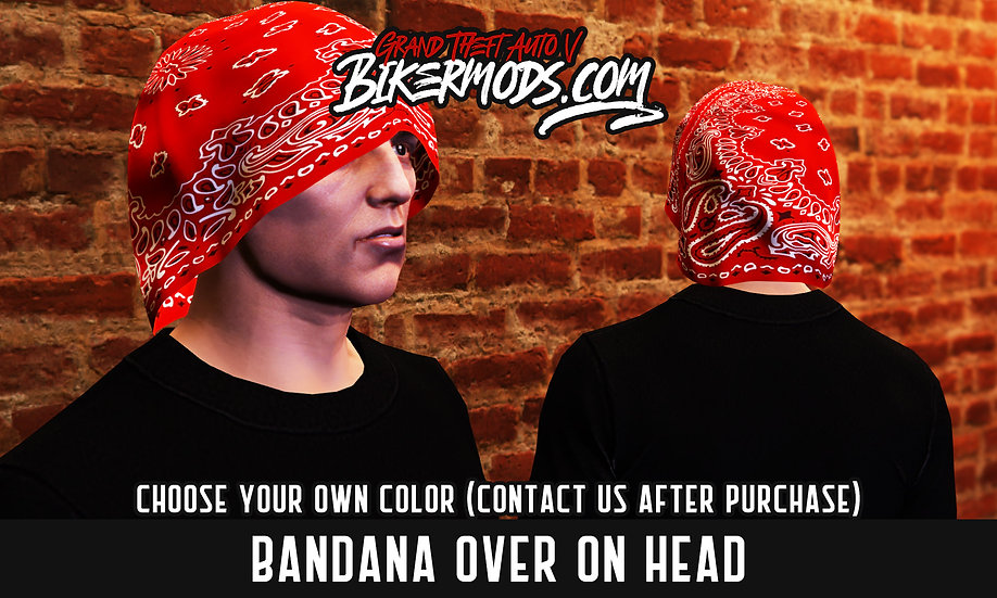 Bandana Over Head