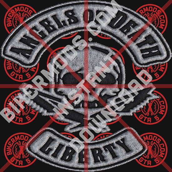 Angels of Death MC Liberty HD Emblem (Instant Download)