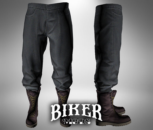 Combat Pants w/ Combat Boots Combo
