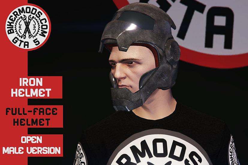 Iron Helmet (Open Face)