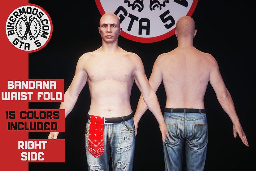 Bandana (Front Right Flap)