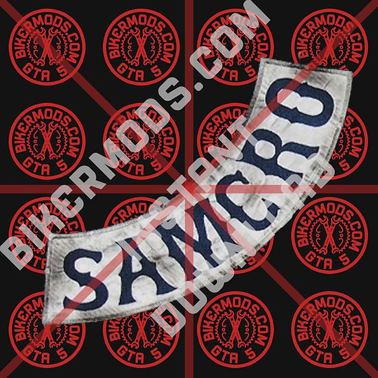 Samcro Side Rocker HD Emblem  (TV Accurate Replica) Instant Download