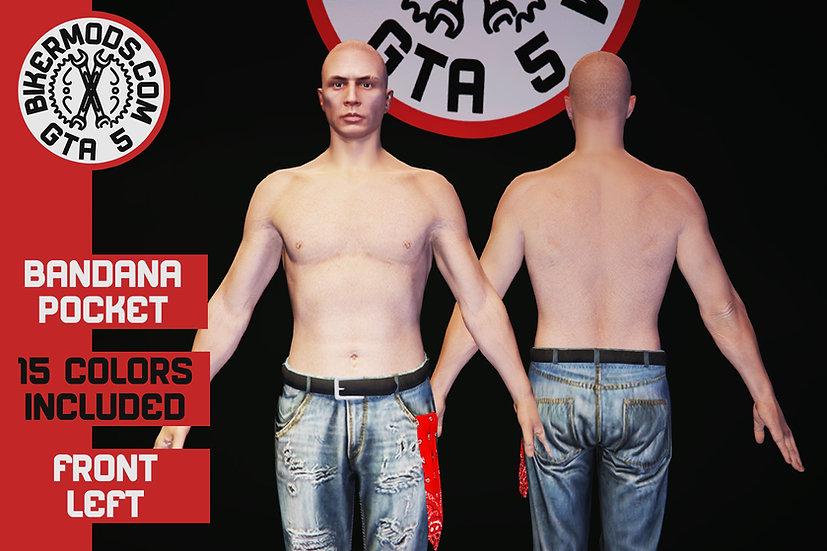 Bandana (Front Left Pocket)
