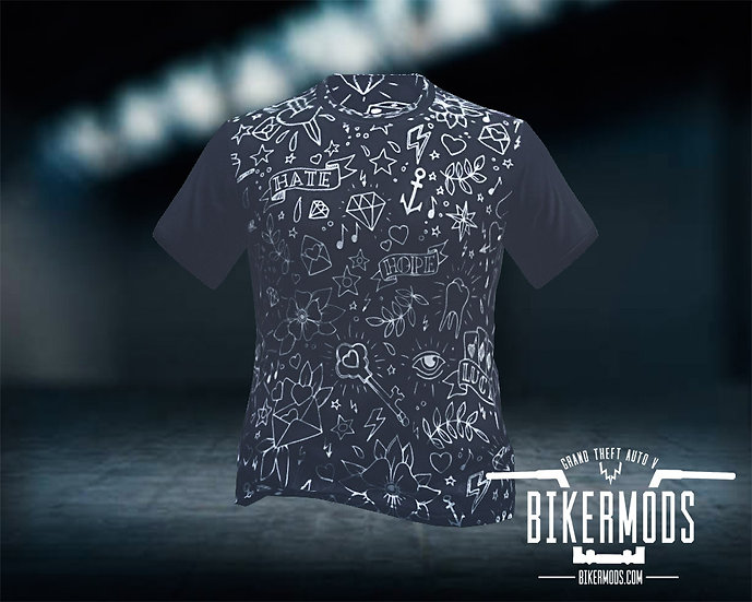 Hipster Pattern Shirt