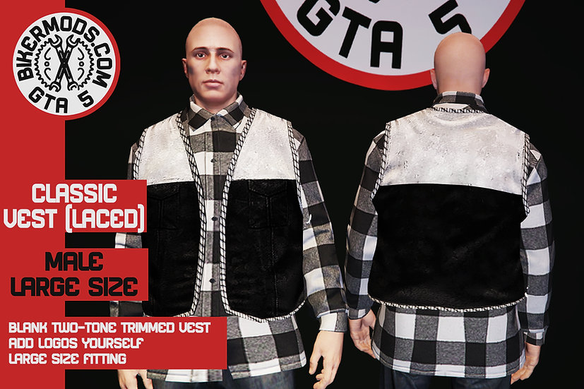 Classic Vest (Laced) Large Size