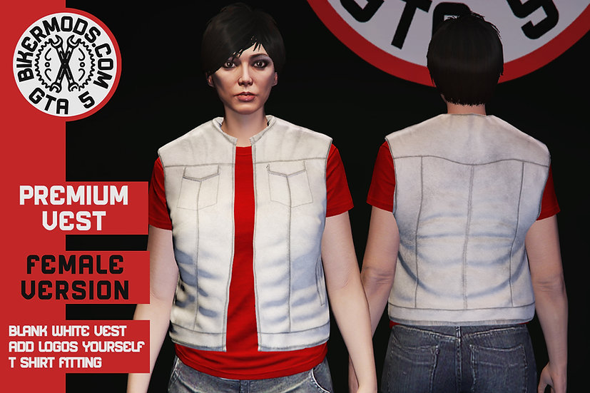 Premium Vest (Female) (White)