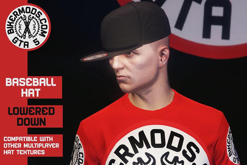 Baseball Hat (Lowered Forward)