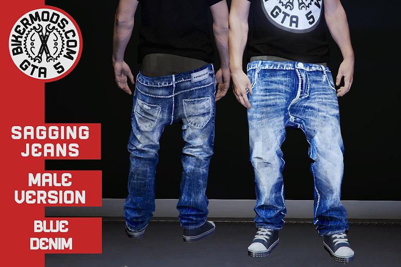Sagging Jeans (Blue Denim)