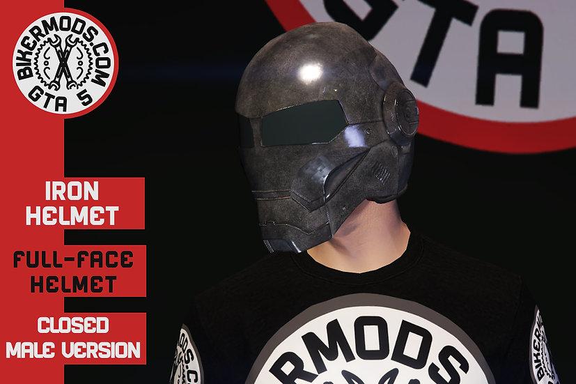Iron Helmet (Closed Face)