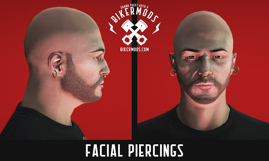Facial Piercings