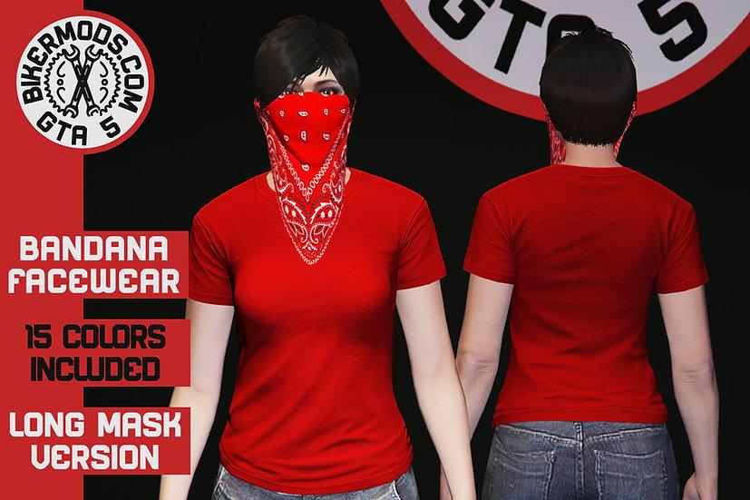 Bandana Facewear (Long Mask) (FEMALE)