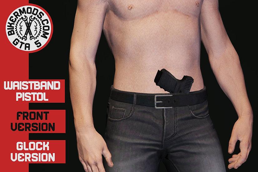 Waistband Pistol Glock (Front)