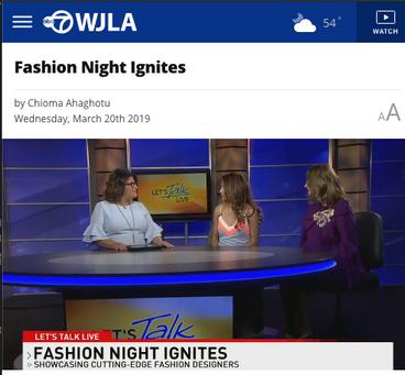 Fashion Night Ignites - WLJA TV