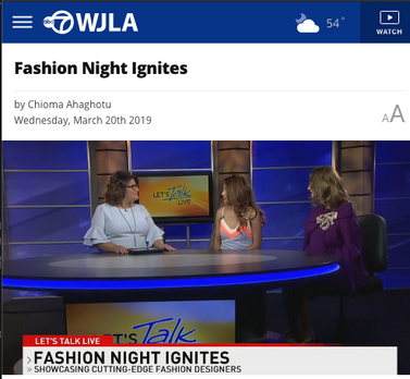 Fashion Night Ignites - WLJA TV
