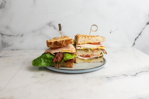 club sandwich kip_Luza's breakfast lunch