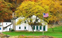 Warner House in Fall
