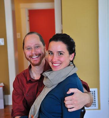 Trevor Eller & Miriam Joy Dowd, Yoga Maya Center, Ypsilanti MI.