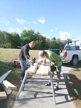 Long-term staff at Triple Crane Retreat Center