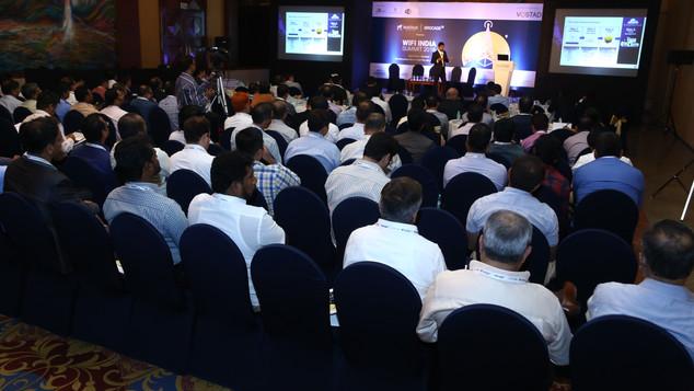 Full House at Wi-Fi India Summit in Mumbai Edition