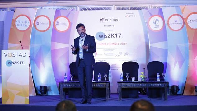 MD Ruckus Wireless Speaking at Wi-Fi India Summit 2017 in Bangalore India