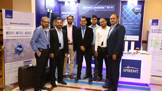 Team Picture of Spirent at Wi-Fi Expo Mumbai