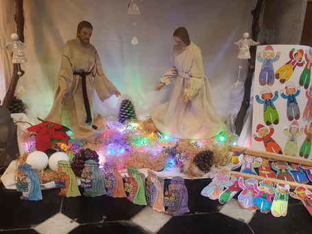 Célébration de Noël à l'église de Bourdon