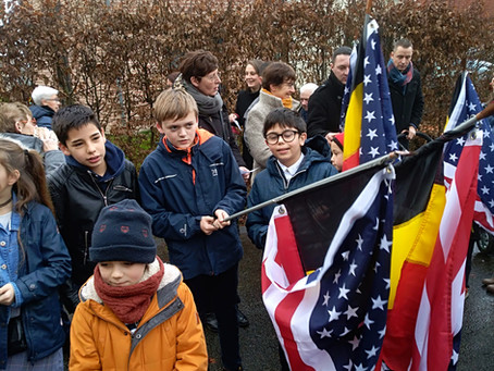 Participation aux commémorations du 75e anniversaire de la fin de la guerre