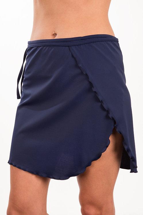 Adjustable wrap skirt