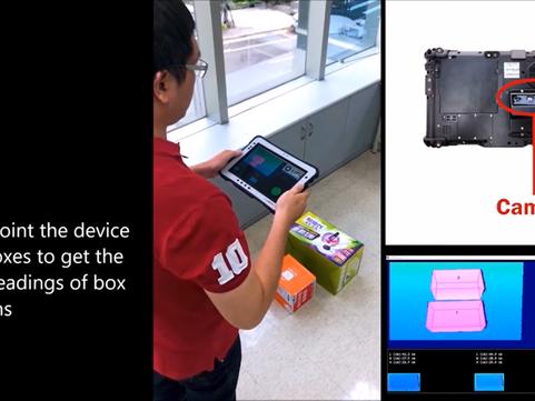 Mobile LIPSMetric 3D Ruler Challenge