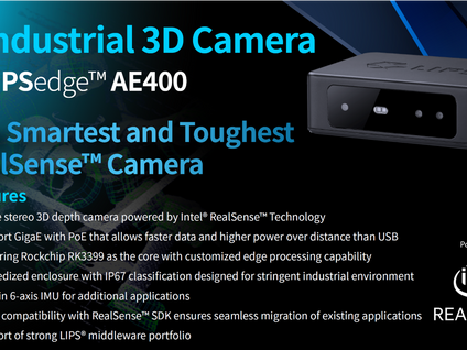 Introduce LIPSedge™ AE400 Industrial 3D Camera