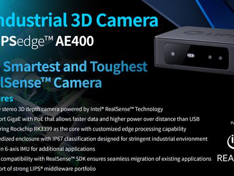 Introduce LIPSedge™ AE400 Industrial 3D Camera
