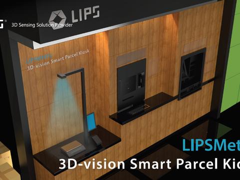 LIPSMetric Parcel Kiosk - Non Cubic Object Measurement