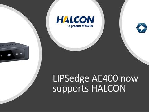 LIPSedge AE400 Now Supports HALCON