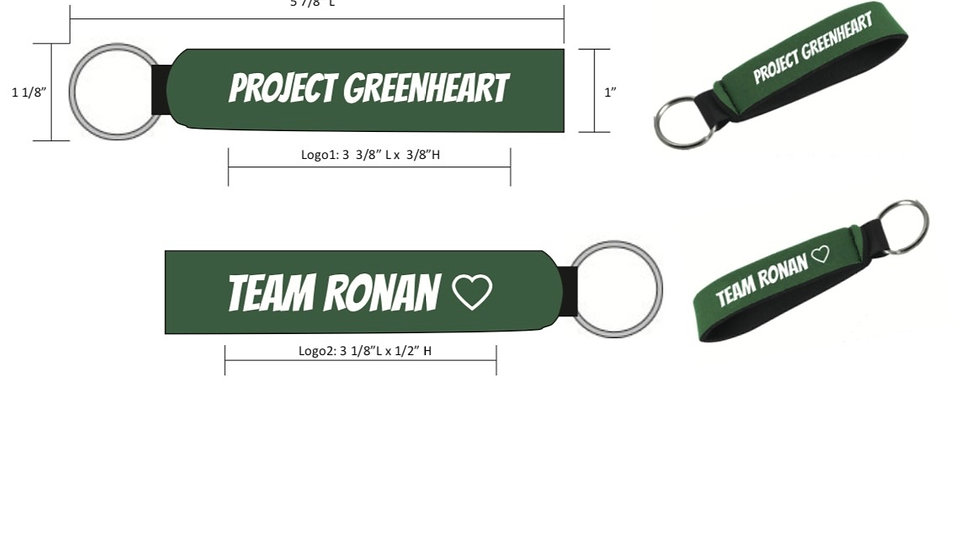Project GreenHeart Key Chain