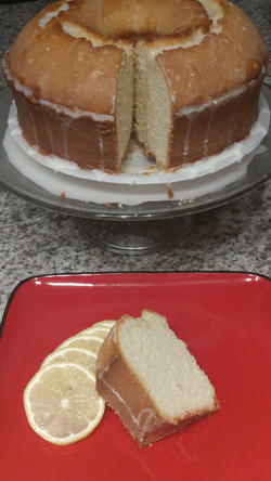 Sliced Lemon Pound Cake 2