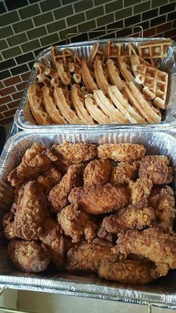 Buffet Style Chicken & Waffles