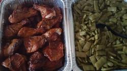 BBQ Chicken Green Beans 2