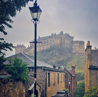 The Castle from Grassmarket