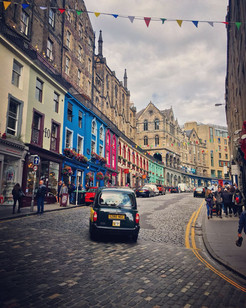 The colours of Victoria Street