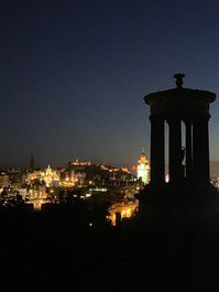 Night on Calton Hill