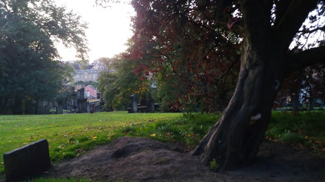 Evening light in Greyfriars