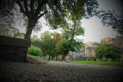 The graveyard at Greyfriars