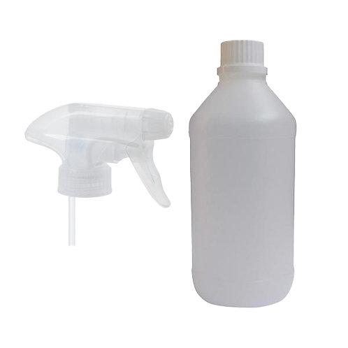 Flacone 500ml con erogatore spray
