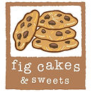 Fig Cakes Choc Chunk Cookie Logo Design.