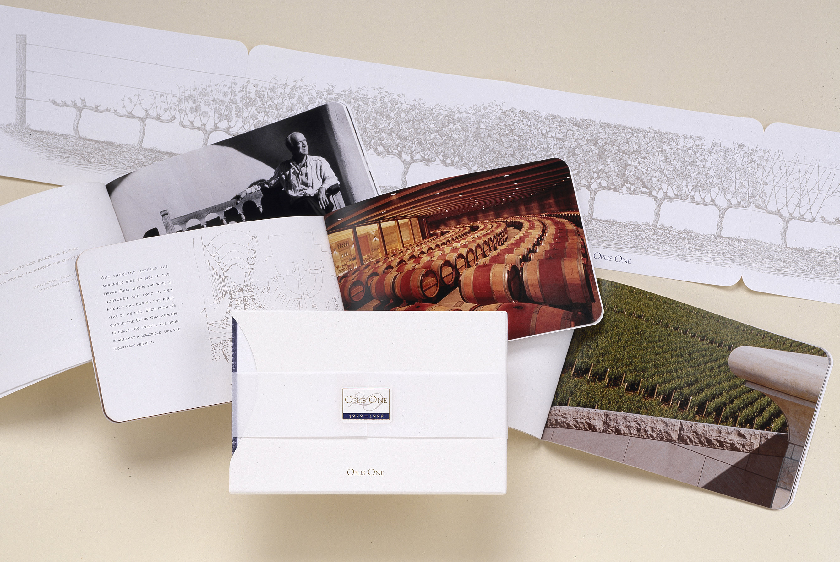 Opus One Winery Folio Design